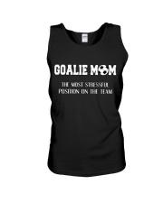 Soccer - Goalie mom Unisex Tank thumbnail