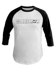 Soccer - Goalie mom Baseball Tee thumbnail