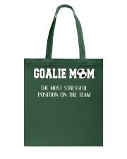 Soccer - Goalie mom Tote Bag thumbnail