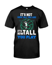 Volleyball how-tall-you-are Classic T-Shirt front