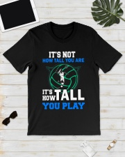 Volleyball how-tall-you-are Classic T-Shirt lifestyle-mens-crewneck-front-17
