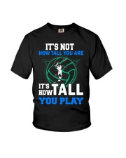 Volleyball how-tall-you-are Youth T-Shirt thumbnail