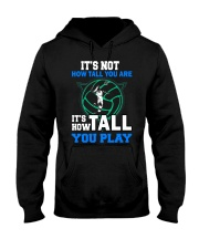 Volleyball how-tall-you-are Hooded Sweatshirt thumbnail
