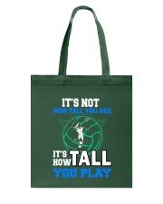 Volleyball how-tall-you-are Tote Bag thumbnail
