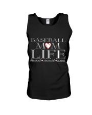 Baseball-momlife Unisex Tank thumbnail