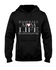 Baseball-momlife Hooded Sweatshirt thumbnail