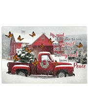 Butterfly My Mind Still Talks PM4532 17x11 Poster front