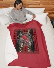 "Bird My Mind Still Talks Rose Christmas A0031 Large Sherpa Fleece Blanket - 60"" x 80"" aos-sherpa-fleece-blanket-60x80-lifestyle-front-06"