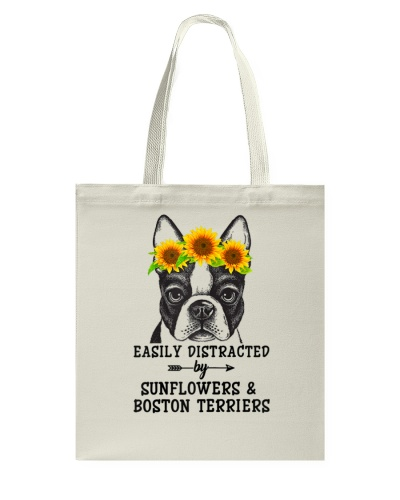 Easily Distracted By Sunflowers And Terriers
