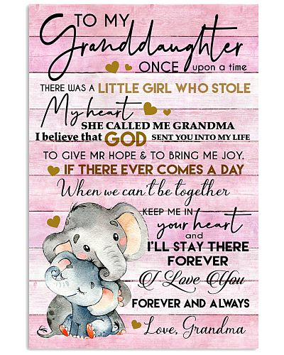 To My Granddaughter Once Upon A Time