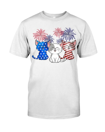 Cats US Flag Color