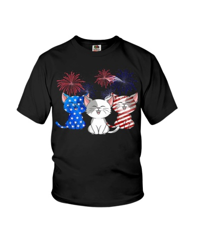 Cats US Flag Color