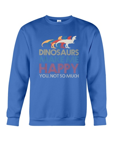 Dinosaur make me happy