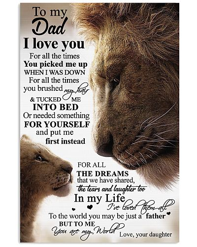 To My Dad - Lion Dad