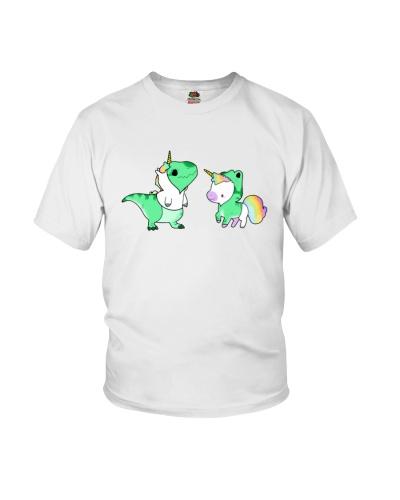 Dinosaur with Unicorn