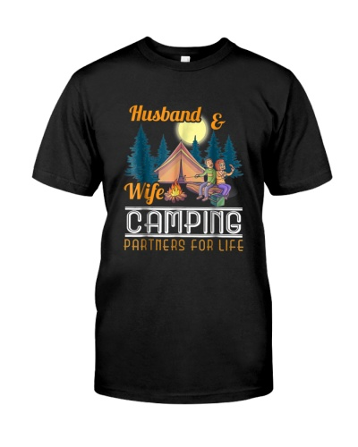 Husband  Wife Camping Partners for Life Gift