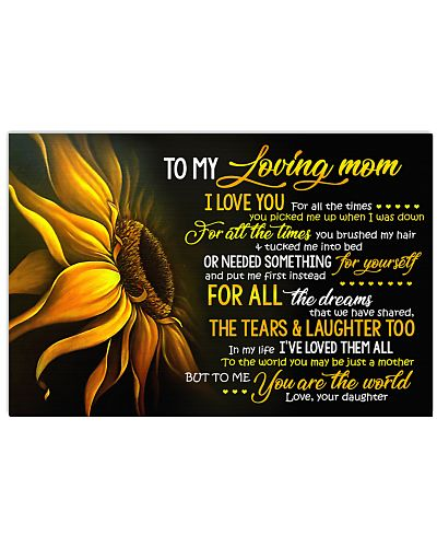 To My Loving Mom