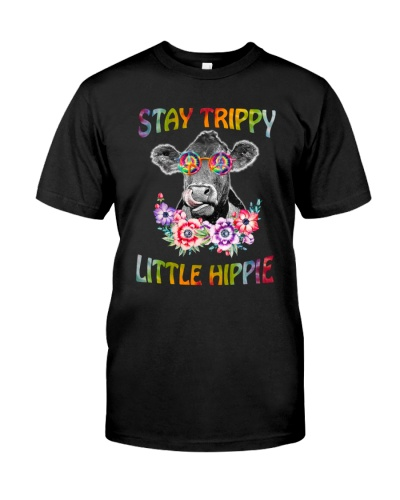 Stay Hippiy Little Hippie Cow
