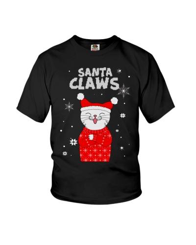 Cat Funny Santa Claus