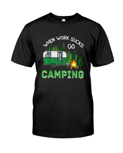 When Work Sucks Go Camping