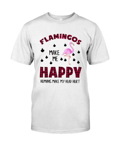 Flamingos Make Me Happy