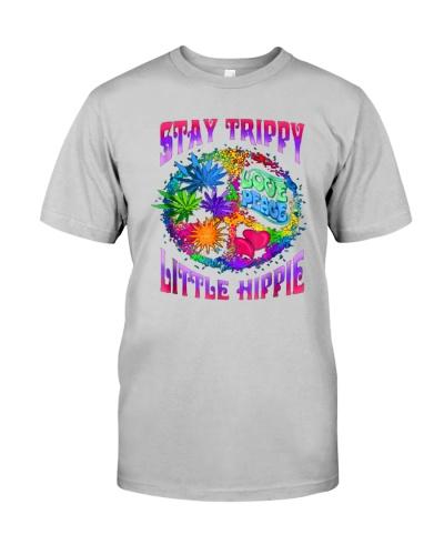 Stay Trippy Love Peace Little Hippie