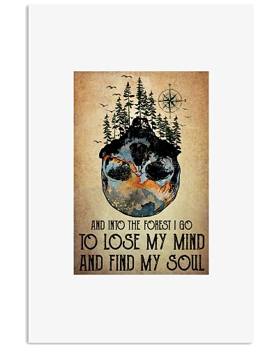 And Into The Forest I Go Vertical Poster