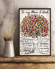 To My Mom and Dad 11x17 Poster lifestyle-poster-3