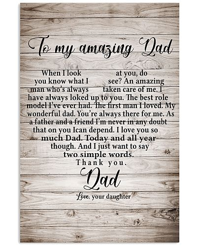 To My Amazing Dad