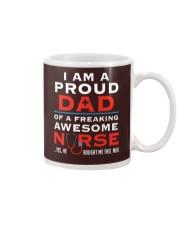 Proud Dad of A Freaking Awesome Nurse Mug thumbnail