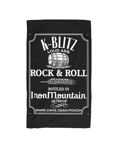 K Blitz Rock n Roll Hand Towel