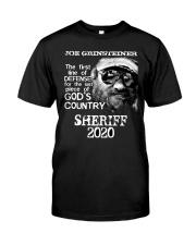 Joe For Sheriff Tee Classic T-Shirt front