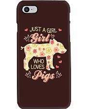 Just A Girl Who Loves Pigs Phone Case thumbnail