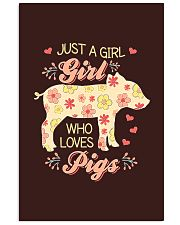 Just A Girl Who Loves Pigs 11x17 Poster thumbnail