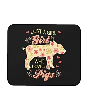 Just A Girl Who Loves Pigs Mousepad thumbnail