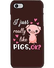 I Just Really Like Pigs Phone Case thumbnail