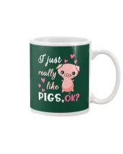 I Just Really Like Pigs Mug thumbnail