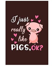 I Just Really Like Pigs 11x17 Poster thumbnail