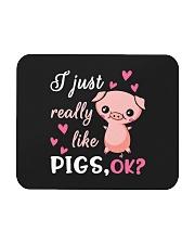 I Just Really Like Pigs Mousepad thumbnail