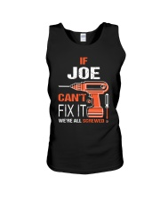 If Joe Cant Fix It - We Are All Screwed Unisex Tank thumbnail