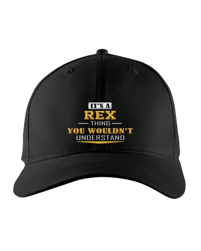 REX - Thing You Wouldn't Understand