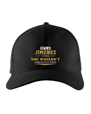 JIMENEZ - Thing You Wouldn't Understand Embroidered Hat front