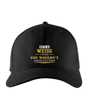 WEISS - Thing You Wouldnt Understand Embroidered Hat front