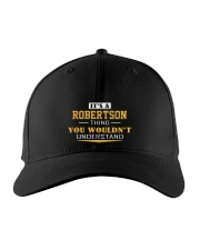 ROBERTSON - Thing You Wouldn't Understand Embroidered Hat front