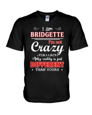 Bridgette-My reality is just different than yours V-Neck T-Shirt thumbnail