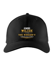 WILCOX - Thing You Wouldnt Understand Embroidered Hat front