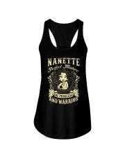 PRINCESS AND WARRIOR - NANETTE Ladies Flowy Tank thumbnail
