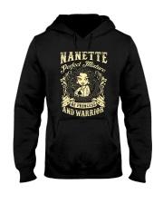 PRINCESS AND WARRIOR - NANETTE Hooded Sweatshirt thumbnail