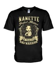 PRINCESS AND WARRIOR - NANETTE V-Neck T-Shirt thumbnail