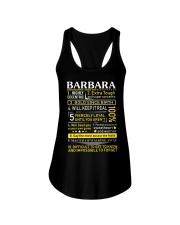 Barbara - Sweet Heart And Warrior Ladies Flowy Tank thumbnail